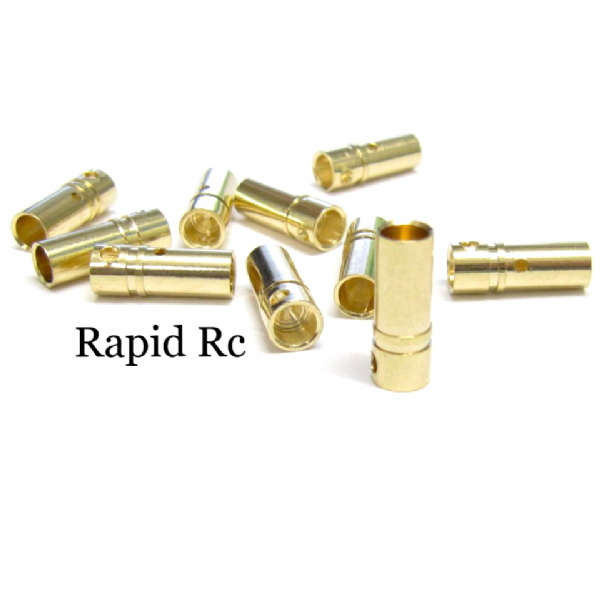3.5mm Gold Connector 10 Females ( 10 PC )